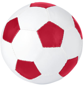Promo voetbal rood